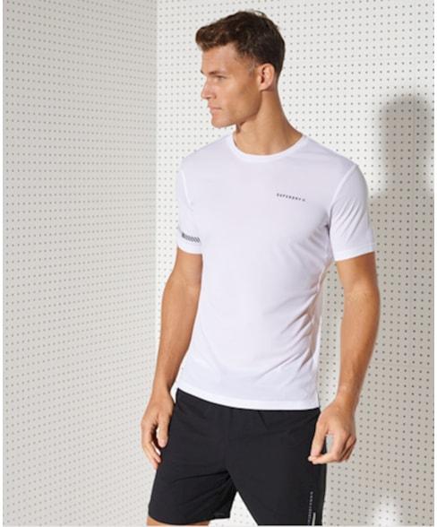 MS310558A | Superdry Lichtgewicht Run T-shirt met korte mouwen