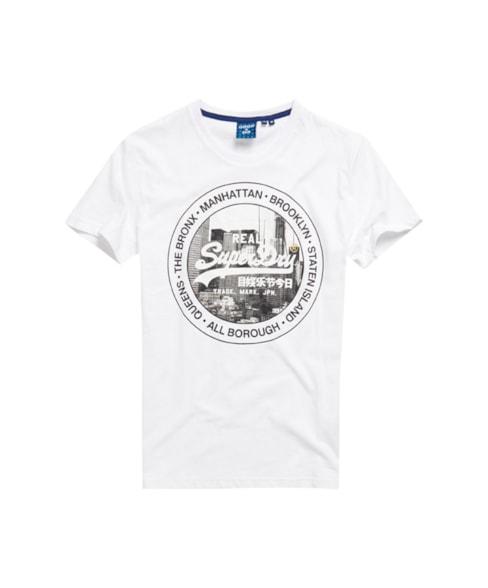 M1010347B | Vintage Logo NYC T-shirt met fotoprint