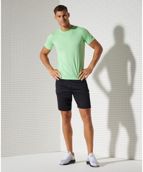 MS310164A   Superdry Training Relaxed short