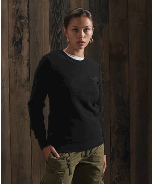 W2010338A | Orange Label sweatshirt met ronde hals