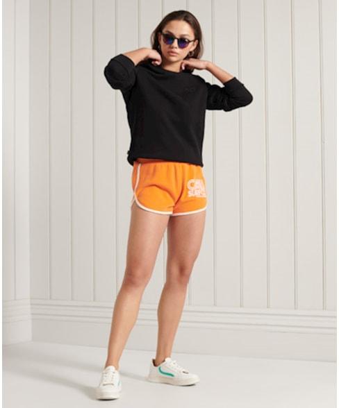 W2010752A   Superdry Klassiek Orange Label sweatshirt
