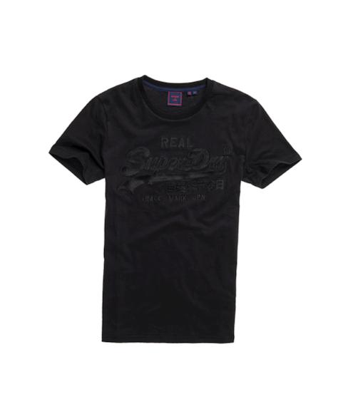 M1010405B | Geborduurd Vintage Logo T-shirt