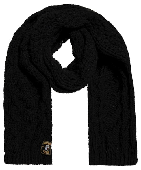 G90005NR | Superdry Chic Regal Cable Scarf