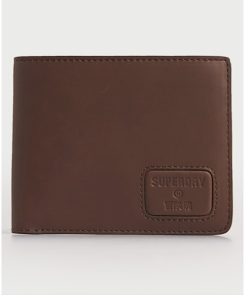 M9810144A | Superdry NYC Bifold Leather Wallet