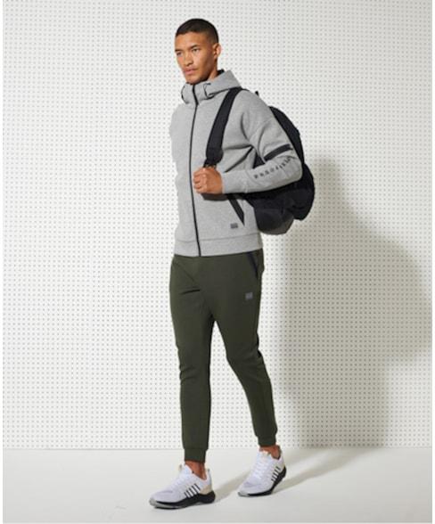 MS310174A | Training Gym Tech hoodie met rits