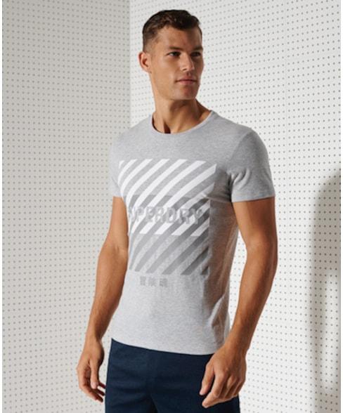 MS310184A | Superdry Training Coresport T-shirt met print