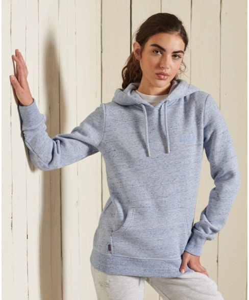 W2011147A | Vintage Logo hoodie met borduursel