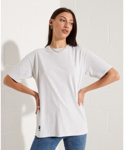 W1010680A   Code Essential T-shirt van biologisch katoen