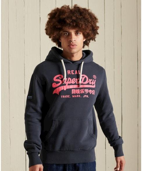 M2011394A | Ac-hoodie met Vintage Logo