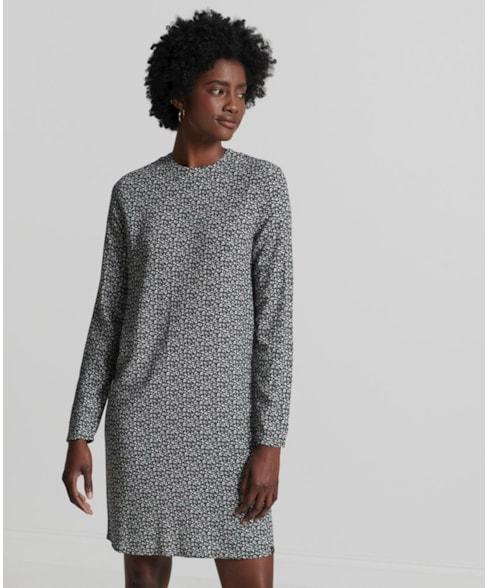 W8010917A | Studios L/s Woven Mini Dress