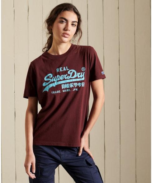 W1010701A   Vintage Logo American Classic T-shirt