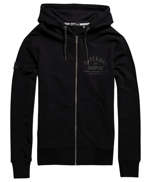 M2010297A | Limited Edition Surplus Goods hoodie met rits