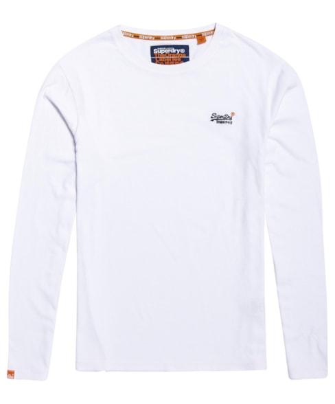 M60002NS | Vintage T-shirt met borduursel van biologisch katoen