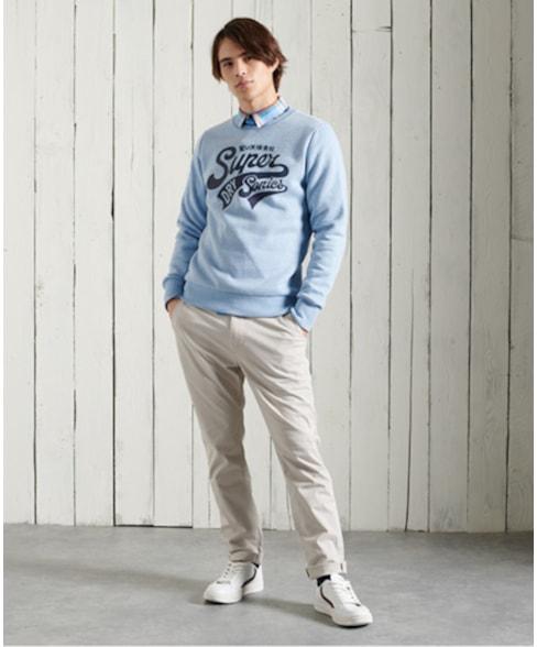 M2011005A | Superdry Collegiate sweatshirt met ronde hals