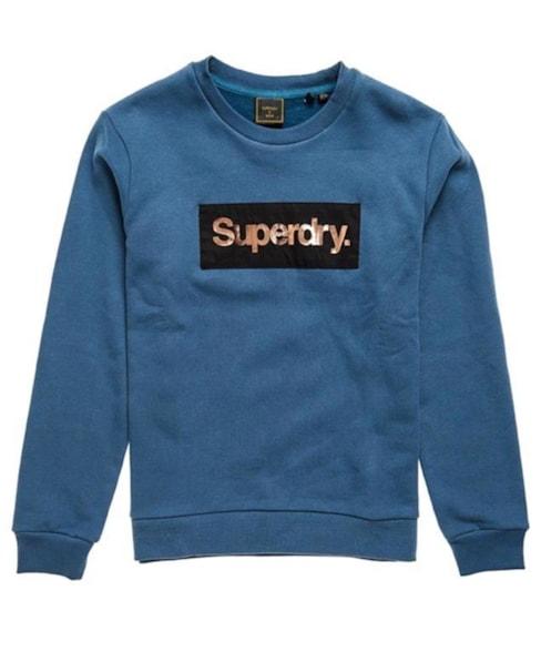 W2010436A | Patina sweatshirt met Core-logo en ronde hals