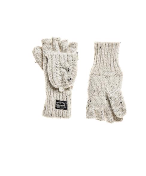 W9310005A | Gracie handschoenen met kabelpatroon