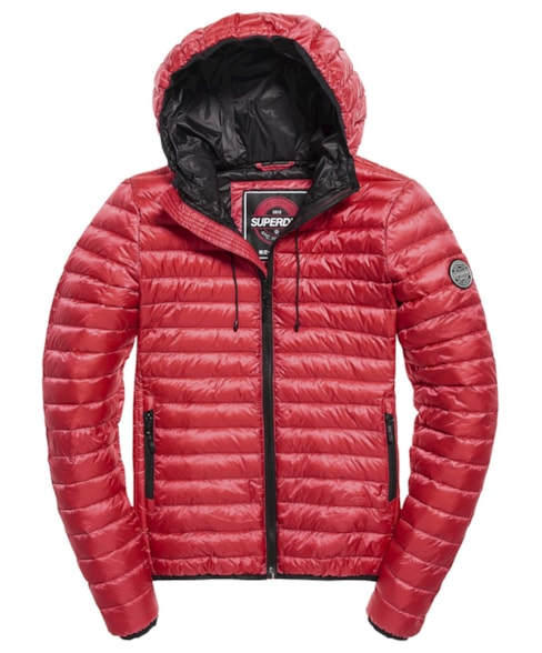 G50001DR | Superdry Core Down Hooded Jacket