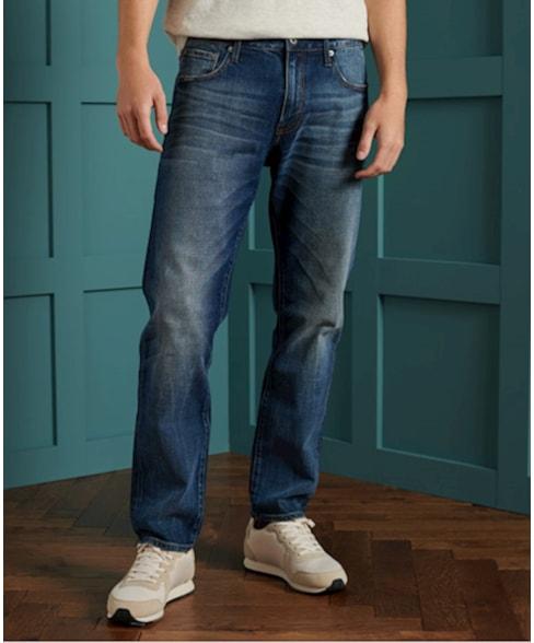 M7010115A | Superdry Tailored jeans met rechte pijpen