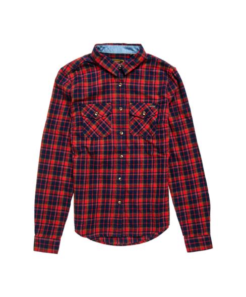 W4010047A | Klassiek Lumberjack overhemd