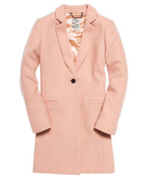 G50011TO | Superdry Sofia Wool Coat