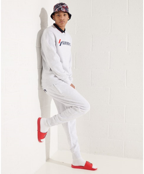 M2011098A | Superdry Sportstyle sweatshirt met appliqué