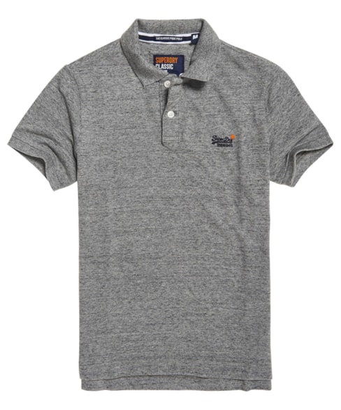 M11005NS   Superdry Organic Cotton Classic Pique Polo Shirt