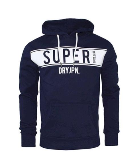 M2010479A | Superdry Panel hoodie met fleece