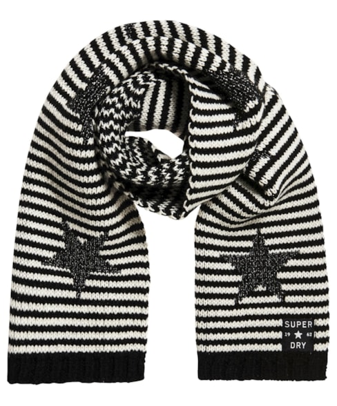 G30008LR | Superdry Star Sparkle Scarf