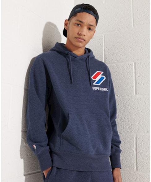 M2011092A | Superdry Sportstyle hoodie met appliqué