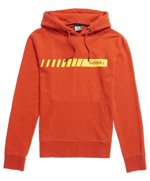 M2010195A | Core Logo Sport hoodie met strepen