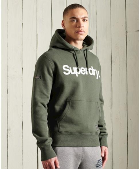 M2010967A | Superdry Military hoodie met grafische print