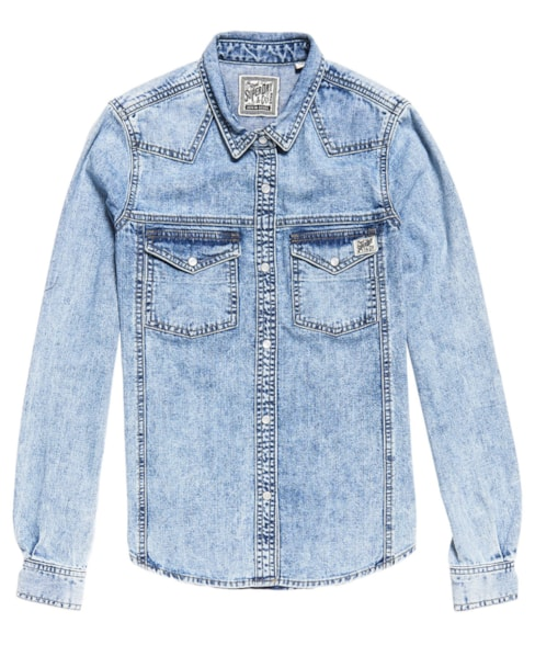 G40116TT | Superdry Western Denim Shirt