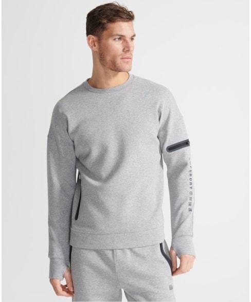 MS310171A | Superdry Training Gym Tech sweatshirt met ronde hals