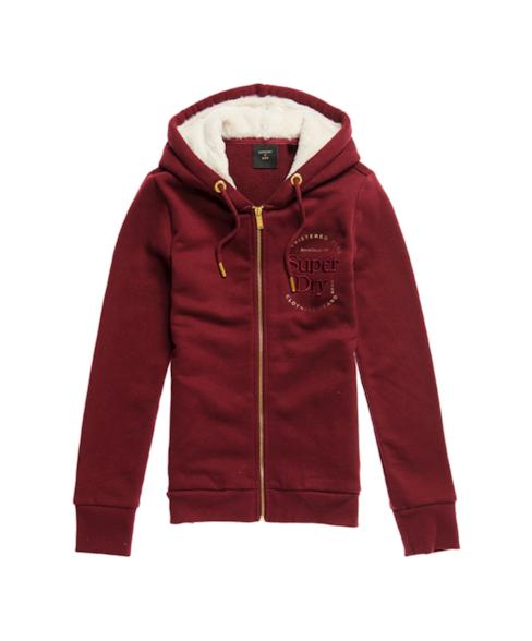 W2010399A | Established hoodie met rits