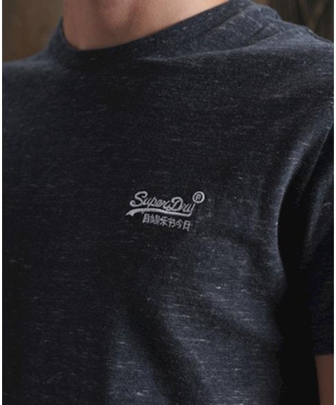 M1010222A | Vintage T-Shirt Met Borduursel Van Biologisch Katoen