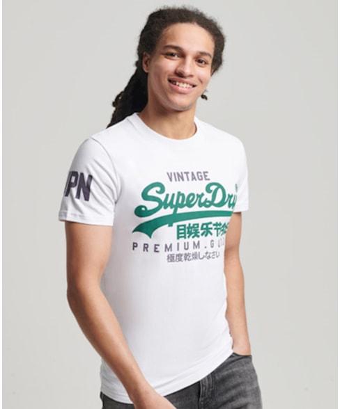 M1010411A | Superdry T-shirt met Vintage logo