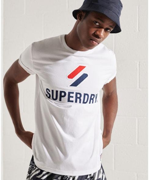 M1010967A | Superdry Klassiek Sportstyle T-shirt