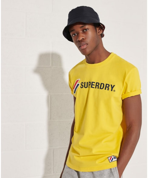 M1010971A | Superdry Sportstyle T-shirt met applique.