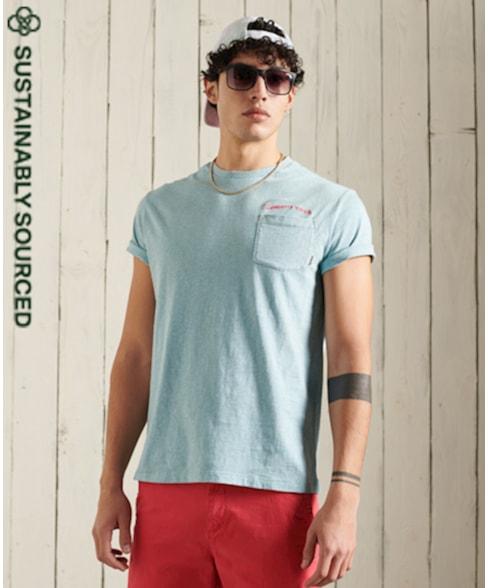 M1011010A | LA Beach Surfing Goods T-Shirt Van Biologisch Katoen