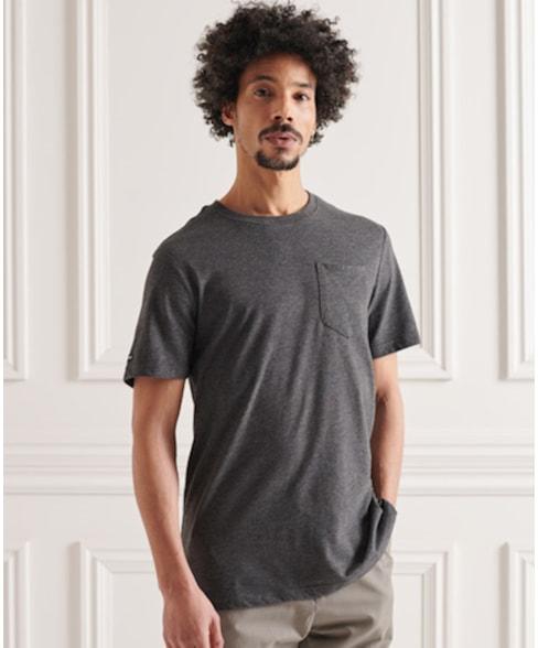 M1011024A | Superdry Katoenen Authentic T-shirt