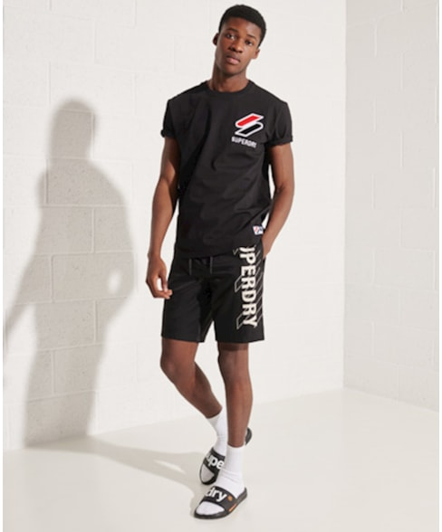 M1011031A | Superdry Sportstyle T-shirt met chenille