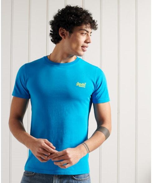 M1011251A | Superdry Orange Label Neon Lite T-shirt