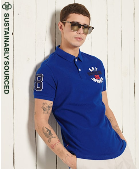 M1110008A | Superdry Classic Superstate Polo Shirt