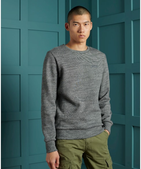 M2010253A   Klassiek Orange Label sweatshirt met ronde hals