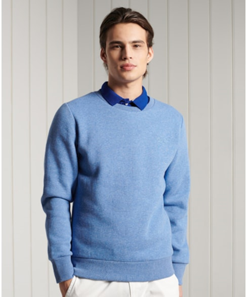 M2010961A   Superdry Klassiek Orange Label sweatshirt met ronde hals