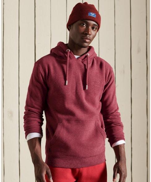 M2011399A | Geborduurde Vintage Logo hoodie