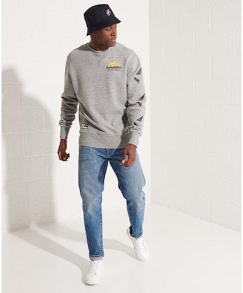 M2011459A   Strikeout sweatshirt met ronde hals