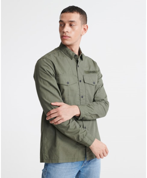 M4010024A | Superdry Field Edition Long Sleeve Shirt
