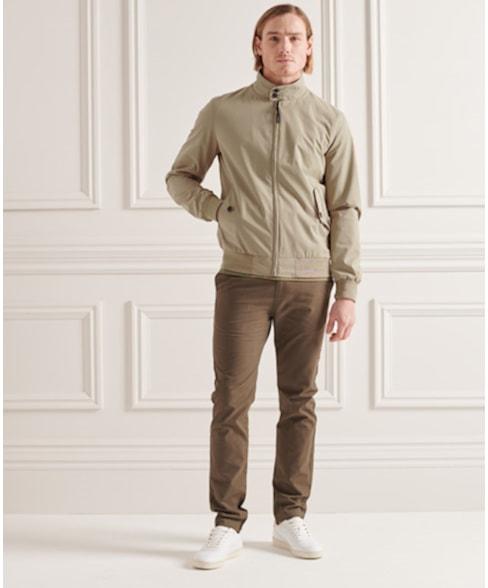 M5010141A | Superdry Iconic Harrington Jacket
