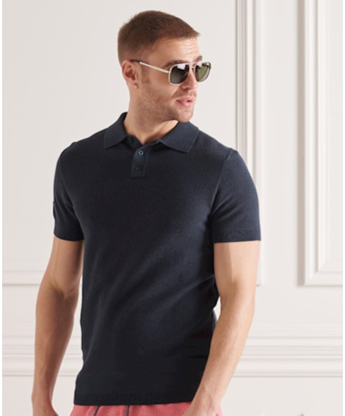 M6110199A | Superdry Fine Knit Polo